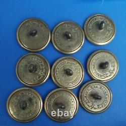 (1)Civil War Era John Smith NewYork Military Button Essayons vintage Button