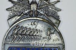 112th New York Volunteers 7th Militia CIVIL WAR VETERAN 1912 REUNION BADGE MEDAL