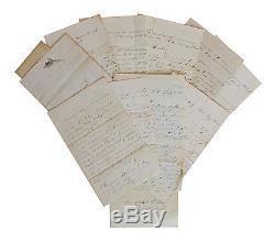 114 New York Infantry, Co. G 11 Civil War Letter Lot