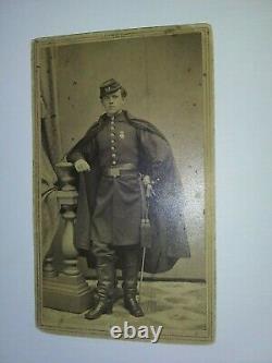 15th New York Heavy Artillery CDV John Jacob Diehl, Jr. Civil War
