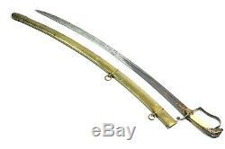 1805 Rare Us Officer's Eaglehead Sword Marked John Sayre New York Pre CIVIL War