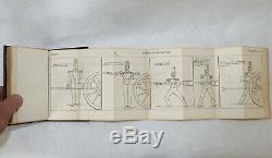 1838 BOOK Buffalo NY Malitia Civil War General SCHOOL OF THE GUNNER ARCULARIUS