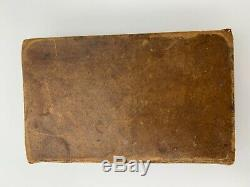 1855 ANTIQUE AMERICAN BIBLE SOCIETY Leather Civil War Old New Testament ABS