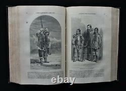 1861-1866 CIVIL WAR Era Harper's New Monthly Magazine, 10 Volumes 60 Issues, VG