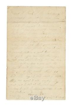 1861 Civil War Letter Filling NY Enlistment Quotas, Middlefield, German Flatts