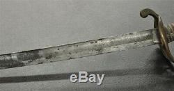 1861 John Aikens Presentation Sword Ames M1850 New York Civil War