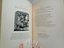 1861 Poetry Anthology Leather Engravings Civil War Era Love