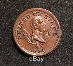 1863 BROAS BROTHERS PIE BAKERS New York, NY Civil War Token