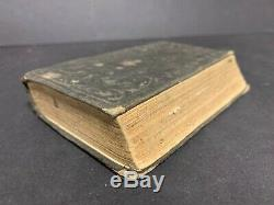 1863 Civil War N T- Bible- Id'd and carried by soldier-97th N Y Infantry co B