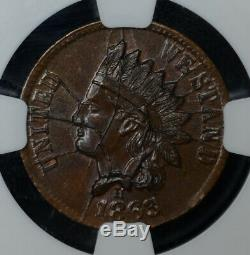 1863 Civil War Store Card Broas Brothers Bakers NYC NY MS63 NGC F#630L-6a R1