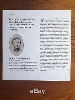 1863 Gettysburg Civil War Letter Lieutenant Fuller 61st NY Wounded in Wheatfield
