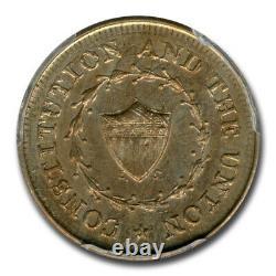 1863 NY Civil War Token Struck on an 1863 1 Cent MS-66 PCGS SKU#200508