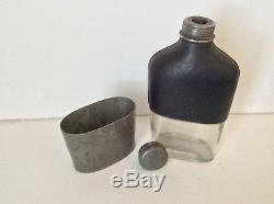 1863 W. T. Fry Co. Flask Liquor Flask Bottle Civil War Era NY Rare 155 years Old