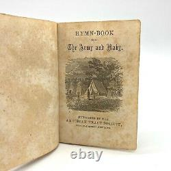 1864 Civil War Soldiers Pocket Hymn Book for Army & Navy American Tract Society