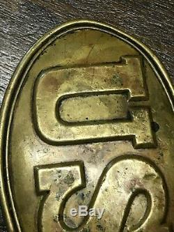 1864 Civil War US Belt Buckle Authentic 21st NY Cavalry (withprovenance)