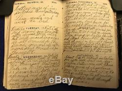 1864 Original Battery H 1st NY Light Artillery 43 Day Civil War Diary CONTENT
