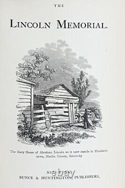 1865 Memorial Campaign ABRAHAM LINCOLN Civil War SLAVERY Penny Slave PRESIDENT