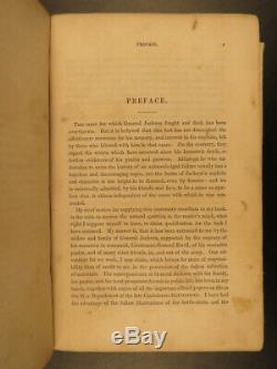 1866 1ed Stonewall Jackson Life & Campaigns Civil War Confederate Battle Maps