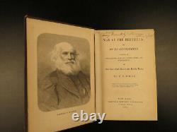 1866 1ed War of Rebellion Civil War Confederate Congress Slavery Henry Foote