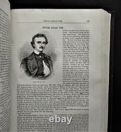 1867-1873 Harper's New Monthly Magazine, 10 Vols 60 Issues, CIVIL WAR Poe Darwin