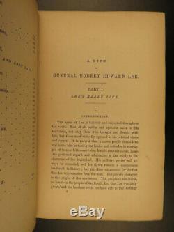 1871 1ed Robert E. Lee Civil War Military Confederate Army Illustrated CSA