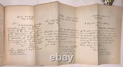 1885, 1st Ed, PERSONAL MEMOIRS OF U. S. GRANT, 2 VOL, FULL LEATHER, CIVIL WAR