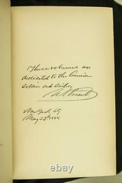 1885 1stED Personal Memoirs of U. S. Grant Civil War Abraham Lincoln Leather