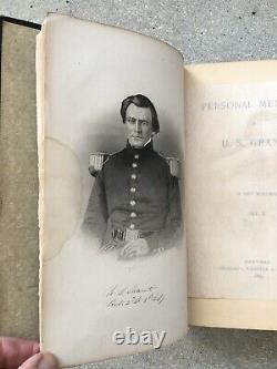 1885 Personal Memoirs U S Grant First Edition Complete VG Civil War Gettysburg