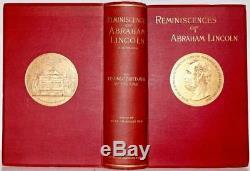 1889 Reminiscences Of Abraham Lincoln Civil War Fine Binding Illustrated