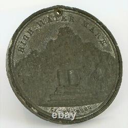 1893 New York Day Gettysburg High Water Mark CIVIL War So Called Dollar Token