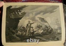 1895 U. S. History American Revolutionary CIVIL War Indian Washington Lincoln Set