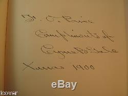 1900 New York At Gettysburg 1863 HC/1st ED Signed Cyrus Gale Civil War Maps