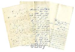 1st New York Dragoons, Co. F 3 Civil War Letter Lot