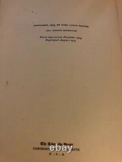 3 Vintage College Textbooks 1915, 1922, 1926 Beginnings, Thru & Since Civil War