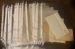 30 Civil War Letters Charles Carey 10th New York Infantry With Envelopes