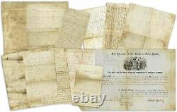 3rd New York Infantry Co. H Fought at Antietam 6 Civil War Dated Content Letters