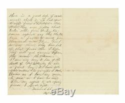 4 Civil War Letters by Private Mason S. Chambers, 169th New York Hart Island