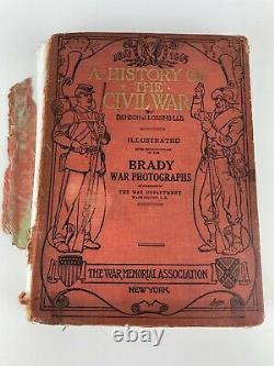 5 Civil War Soldier CDV 16th N. Y. H. A Photo Scrap Book Owned By Francis Larkin