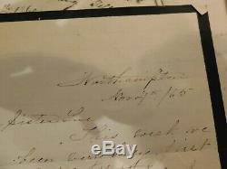 96 Pre Civil War Medicine Northampton NY Doctor 20+ Letters 1 NYC Lunatic Asylum