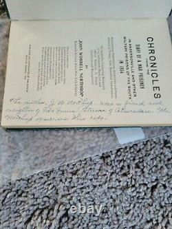 ANDERSONVILLE book Chronicles of a Civil War Prisoner John Northrup 76th NY Inf