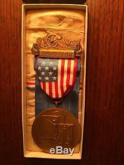 Andersonville Civil War Collection NY Survivor Medal Signed Piece North Gate