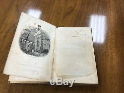 Antique 1861 Book Little Drummer Boy New York Regiment 1st Edition Civil War