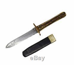 Antique Civil War Side Knife Imported by R. H. Alexander, New York Sheffield