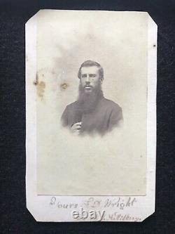 Antique Identified 3rd New York Artillery Civil War Soldier Elmira NY Cdv Photo