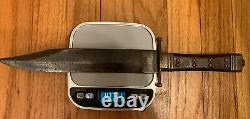 Antique Tiffany & Co New York Bowie Knife CIVIL War Era 1837- Brass Fittings