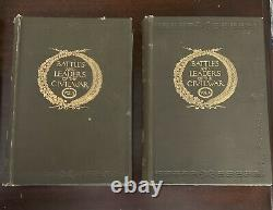 Battles and Leaders of the Civil War 4 Vol Set Century Co. 1887 / 88