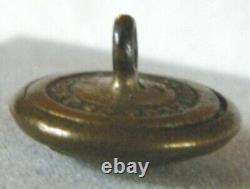 Bb 7th MILITIA Reg. NEW YORK ENGINEER CORPS Civil War UNIFORM BUTTON Medium 1849