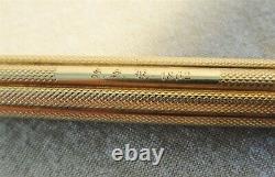 Beautiful Antique 1862 Mabie Todd & Co New York Pen & Pencil Civil War era
