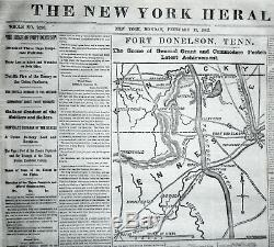 Bound 76 issues THE NEW YORK HERALD for January 1 to March 31,1862 Civil War