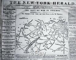 Bound 78 issues THE NEW YORK HERALD, July 1 thru September 30,1861 Civil War
